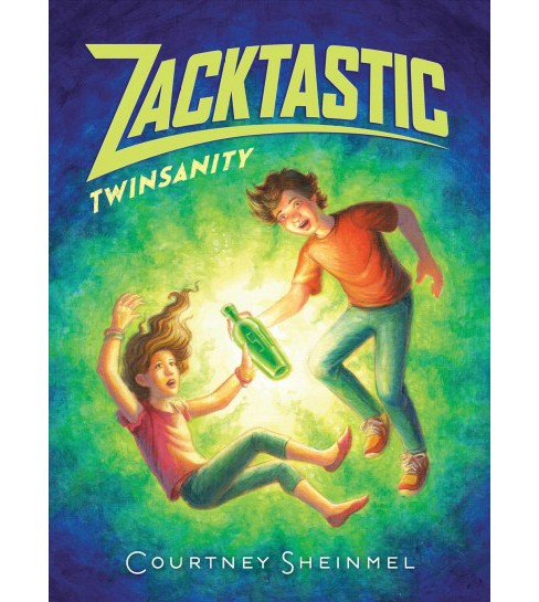 Twinsanity -  (Zacktastic) by Courtney Sheinmel (Hardcover) - image 1 of 1