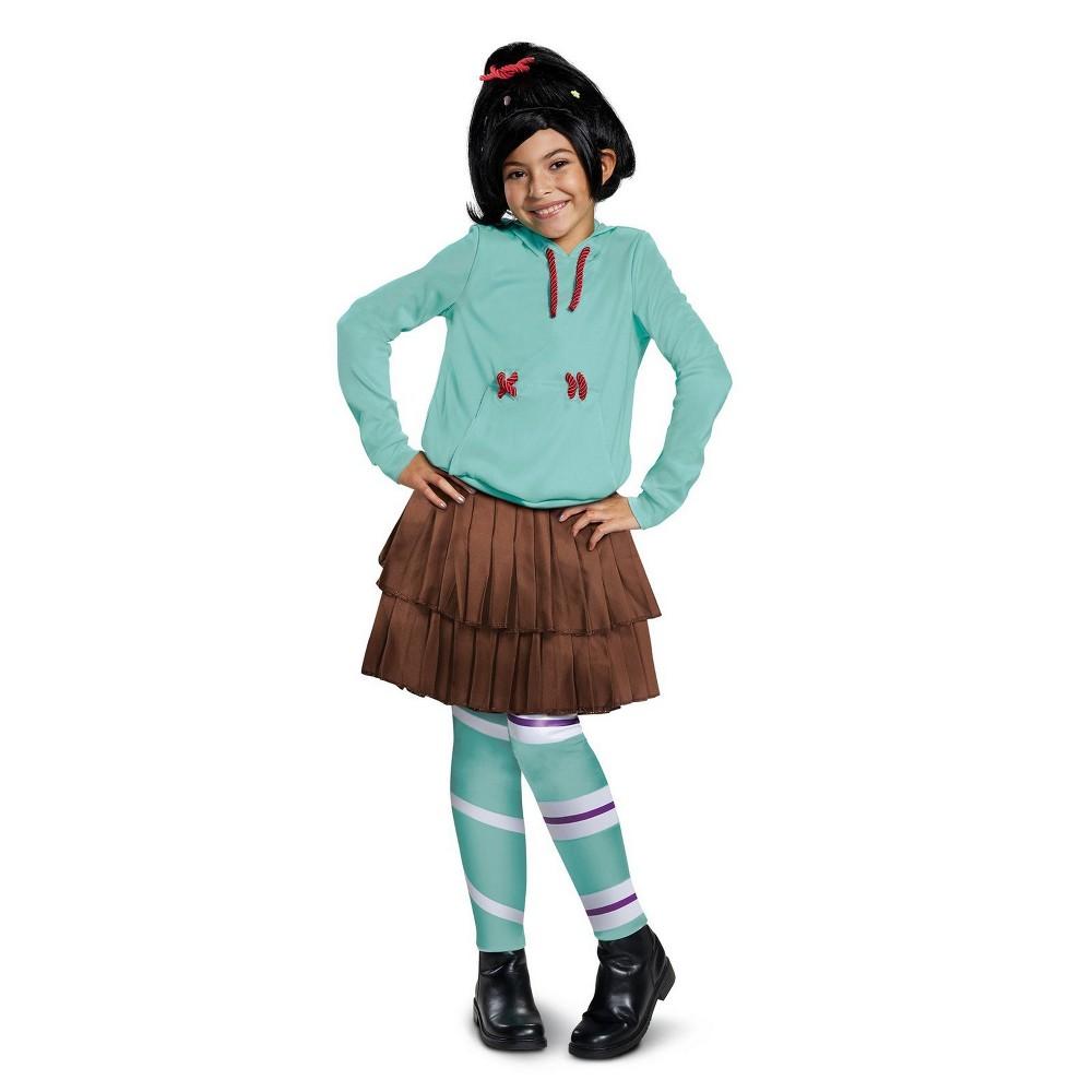 Best Price Wreck It Ralph 2 Girls Vanelope Deluxe Halloween Costume M Disguise Multicolored