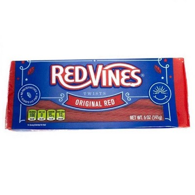 Red Vines Twists Original Red Licorice Candy - 5oz