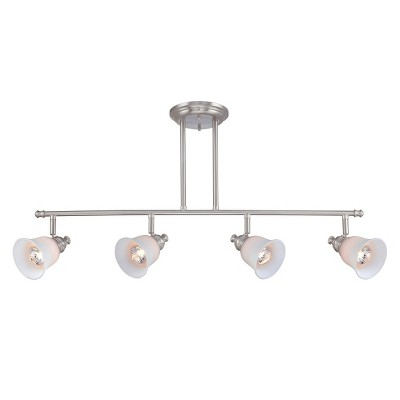 Lite Source Alcee Semi-flush Mount Ceiling Light - Silver