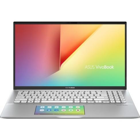"Asus VivoBook S15 S532FL-DB77 15.6"" Notebook - 1920 x 1080 - Core i7 i7-8565U - 12 GB RAM - 512 GB SSD - Transparent Silver - Windows 10 64-bit - image 1 of 4"