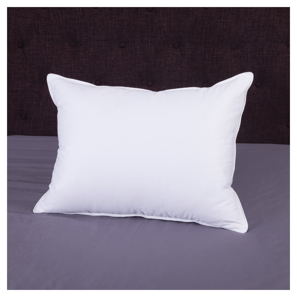 Image of EliteBlend 40/60 550 Fillpower Pillow - White (Queen)