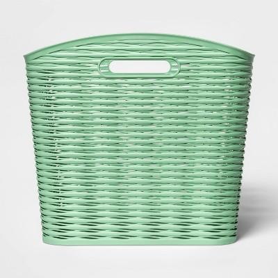 Wave Curved Basket Crisp Green - Room Essentials™