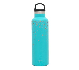 Simple Modern 20oz Ascent Stainless Steel Water Bottle Blue Falling Stars