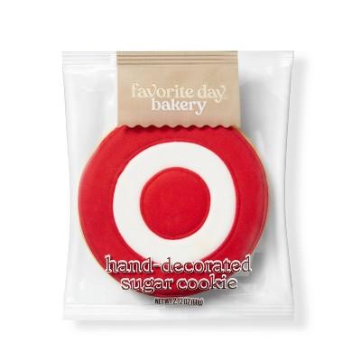 Bullseye Sugar Cookie - 1ct - Favorite Day™