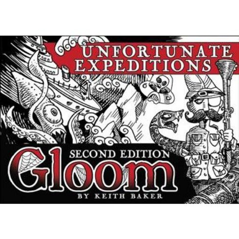 Gloom - Unfortunate Expeditions (2nd Edition) Board Game - image 1 of 3