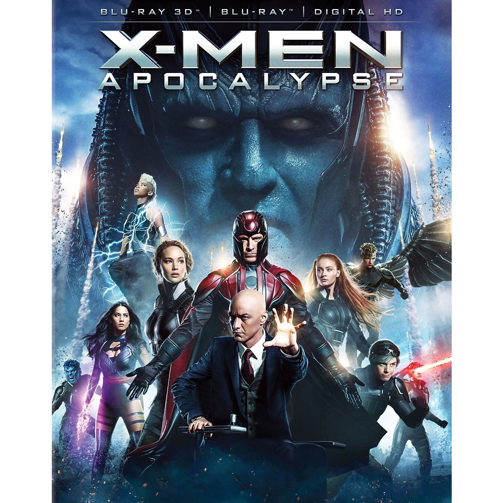 X-Men: Apoocalypse (3D/Blu-ray + Digital)