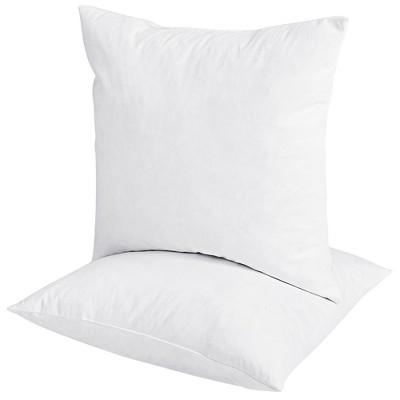 Puredown Down Feather Throw Pillow Insert
