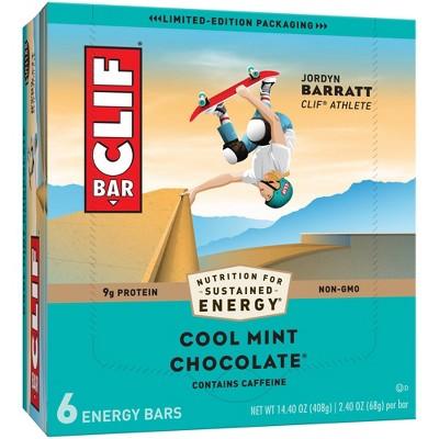 CLIF Bar Cool Mint Chocolate Energy Bars