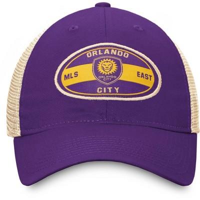 MLS Orlando City SC Men's Cream Mesh Snapback Hat