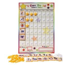 133 pieces english Melissa /& Doug My Magnetic Responsibility Chart