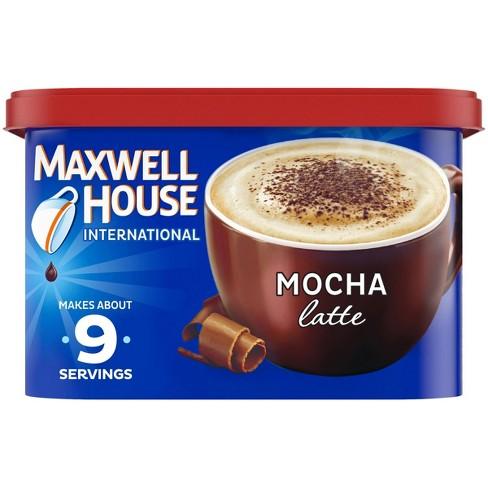 Maxwell House International Latte Mocha Medium Roast Beverage Mix - 8.5oz - image 1 of 4