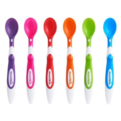 Munchkin Soft-Tip Infant Spoons - 6pk - image 1 of 4