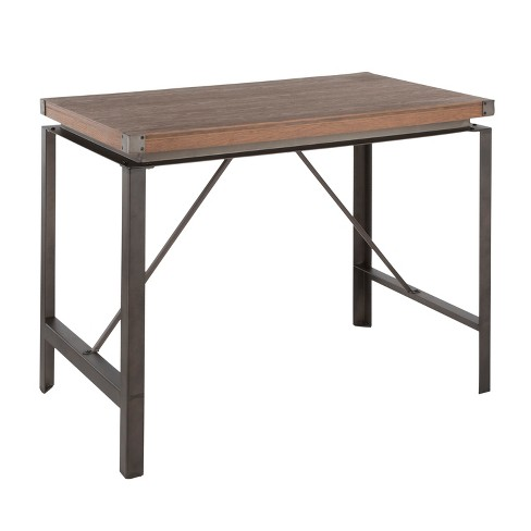Arbor Industrial Counter Height Dining Table Antique/Brown - LumiSource - image 1 of 8