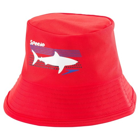 f659a0f484b Speedo Kids Bucket Hat - Red (Large Extra Large)   Target