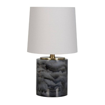 Clear Resin Accent Lamp Gray - Project 62™