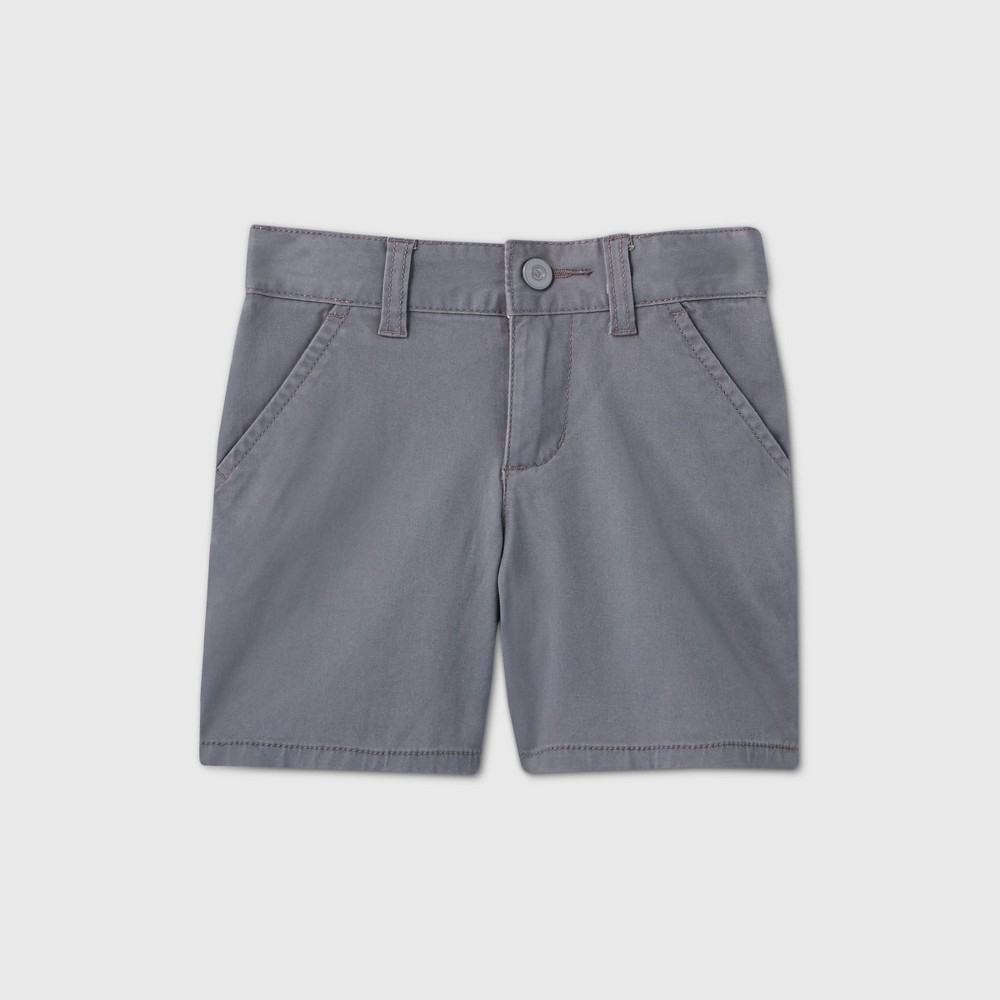 Toddler Girls 39 Flat Front Stretch Uniform Shorts Cat 38 Jack 8482 Charcoal Gray 3t
