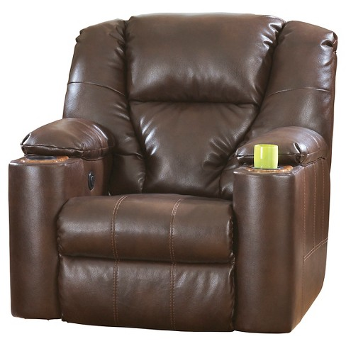 Paramount DuraBlend Power Recliner Brindle - Signature Design by Ashley - image 1 of 4