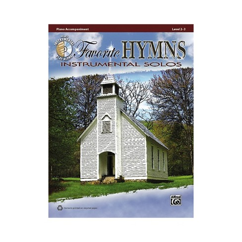 Alfred Favorite Hymns Instrumental Solos Piano Accompaniment. Book & CD - image 1 of 1