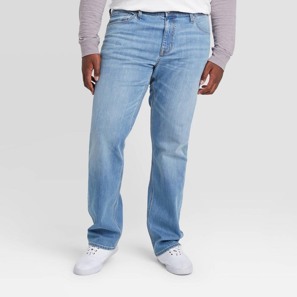 Men 39 S Tall Skinny Fit Jeans Goodfellow 38 Co 8482 Galaxy Blue 30x36