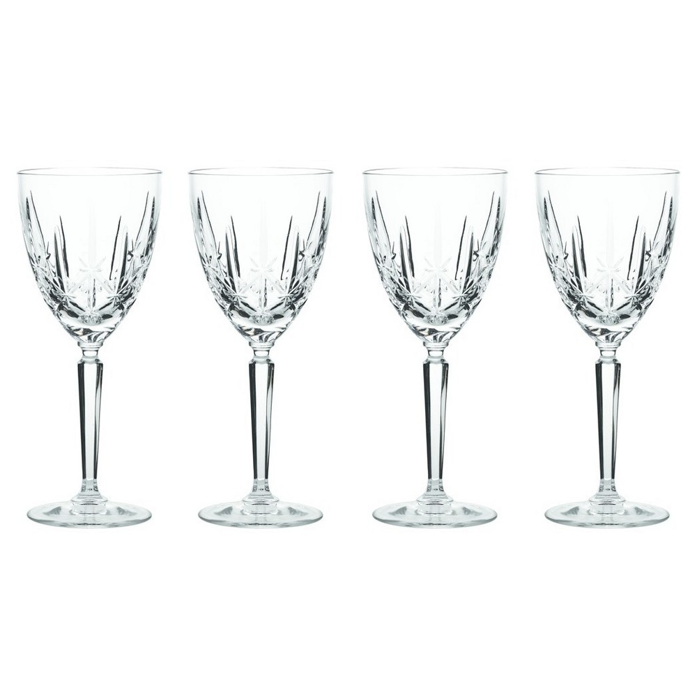 Image of Marquis by Waterford Sparkle Crystal Goblets 10oz - Set of 4, Clear