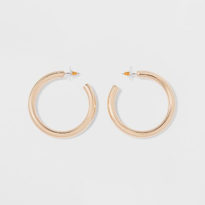 Thick Hoop Earrings - A New Day™