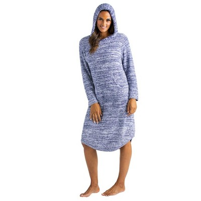 Softies Women's Marshmallow Hooded Lounger