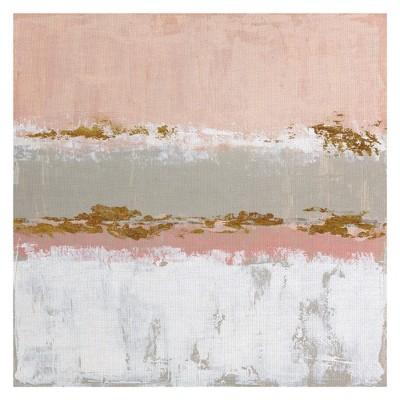 35 x35  Sedona Sunset By Janet Tava Art On Canvas - Fine Art Canvas