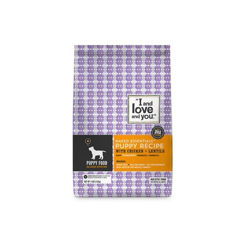 I and Love and You Naked Essentials Puppy Dry Dog Food - 4lb - image 1 of 3