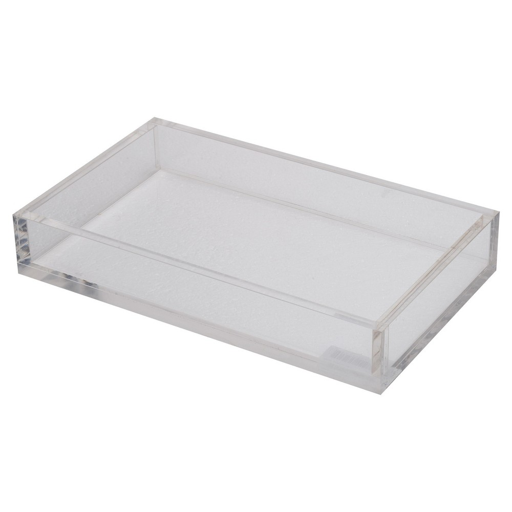 Image of Acrylic Westby Rectangular Tray - Small - A&b Home, Clear