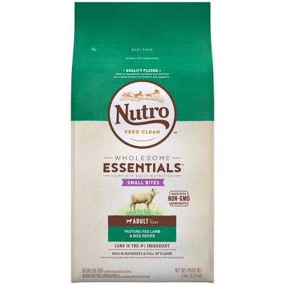 Dog Food: Nutro Wholesome Essentials Adult Small Bites