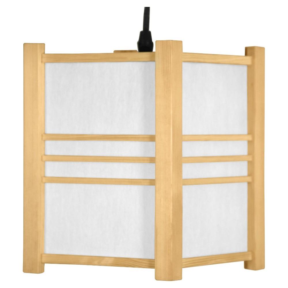 Genki Japanese Hanging Lantern - Neutral (8.5)