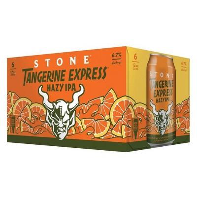 Stone Tangerine Express IPA Beer - 6pk/12 fl oz Cans