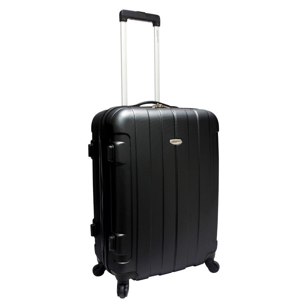 Traveler's Choice Rome 25 Suitcase - Black