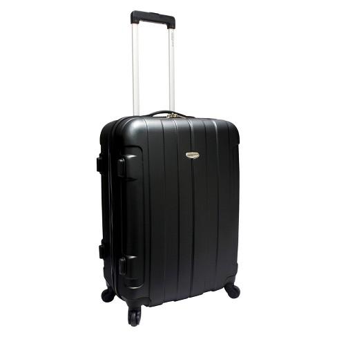 "Traveler's Choice Rome 25"" Suitcase - Black - image 1 of 3"
