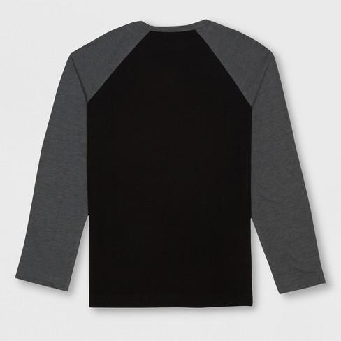 a3cd74992 Boys' Star Wars Stormtrooper Raglan Long Sleeve Graphic T-Shirt - Black :  Target