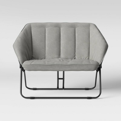 Double Hexagon Chair Gray - Room Essentials™