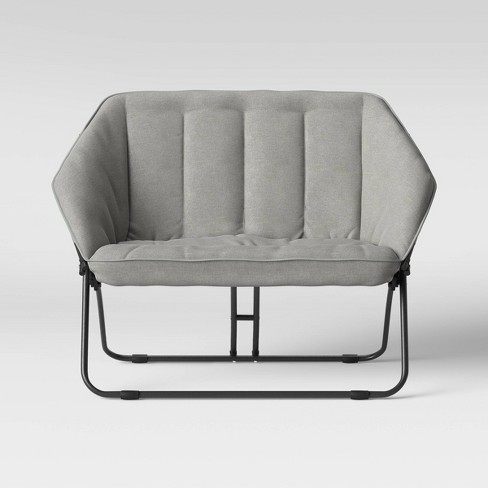 Double Hexagon Chair Gray - Room Essentials™ - image 1 of 4