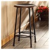 """24"""" Daly Counter Stool Antique Copper - Carolina Chair and Table - image 2 of 3"""