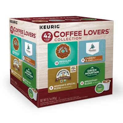 Keurig Coffee Lovers' Collection Sampler Variety Pack Medium Roast - Keurig K-Cup Pods - 42ct