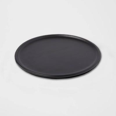 "13"" Acacia Modern Serving Platter Black - Threshold™"