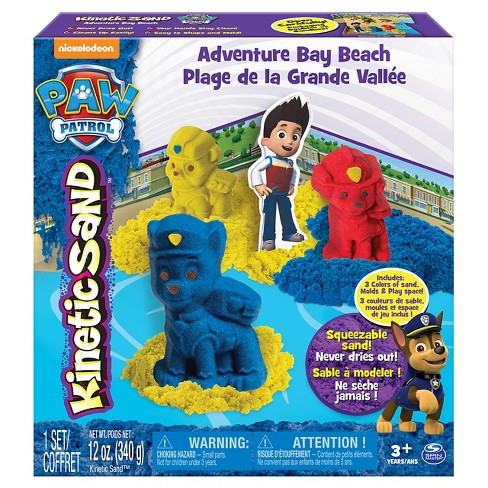 Kinetic Sand PAW Patrol Adventure Bay Beach Playset - image 1 of 4
