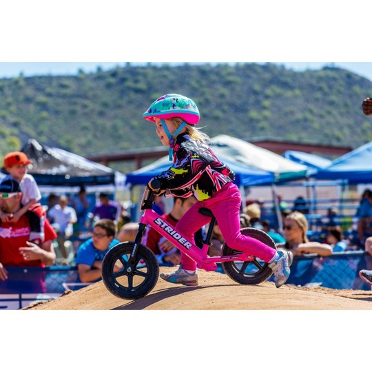 STRIDER 12 Sport Balance Bike For 18 mos. - 5 years, Kids Unisex, Pink image number null