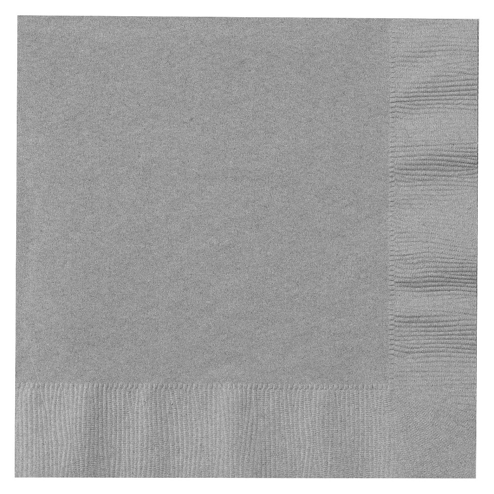 50ct Silver Dinner Napkin Coupons