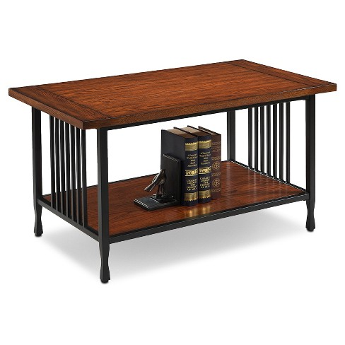 Ironcraft Condo Apartment Coffee Table Mission Oak Leick Home