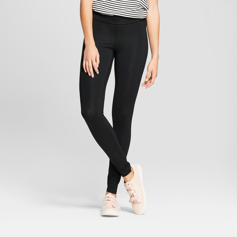 Women's Sensory Friendly Leggings - A New Day Black Xxs