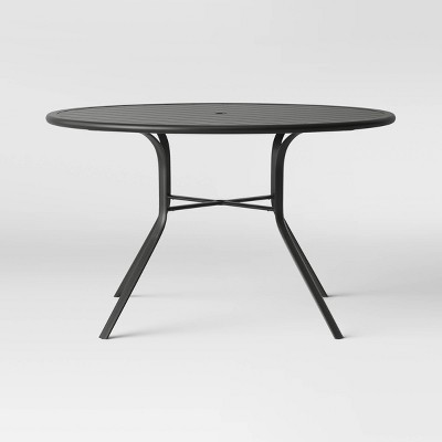 "Avalon 48"" Round Metal Patio Dining Table - Project 62™"