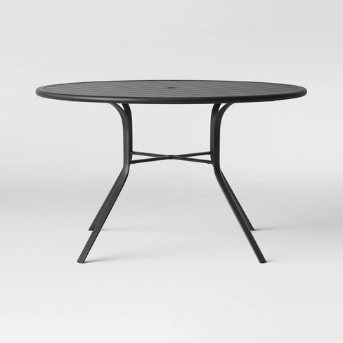 Avalon 48 Round Metal Patio Dining Table Project 62 Target