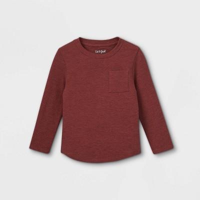 Toddler Boys' Ottoman Knit Long Sleeve T-Shirt - Cat & Jack™