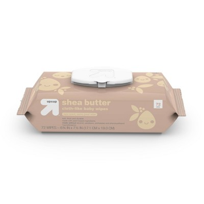 Shea Butter Personal Baby Wipes - up & up™ (Select Count)